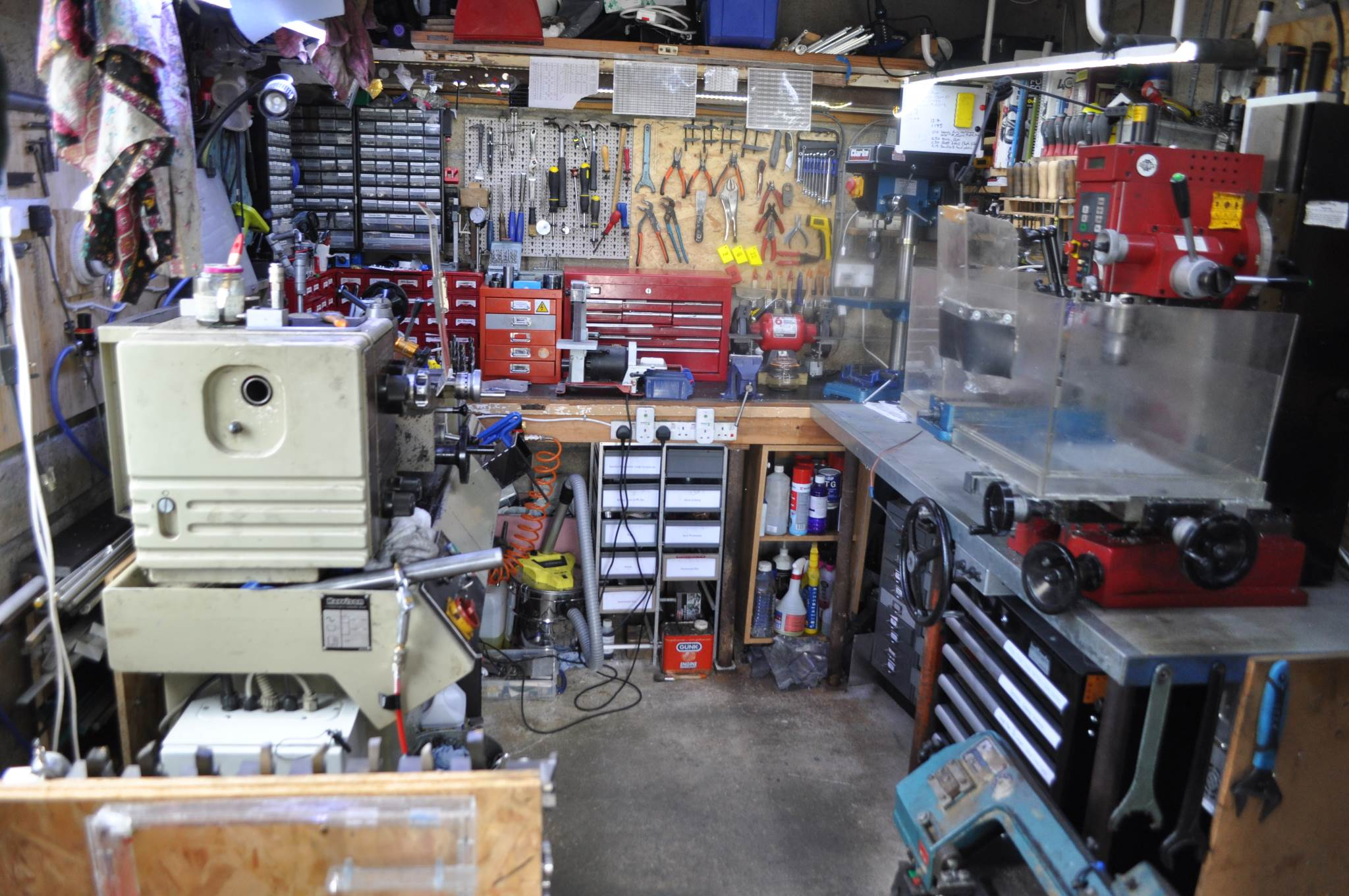 Garage Tool Organization Workshop